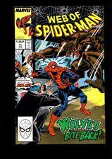 Web of Spider-Man US MARVEL VOL 1 # 51/'89