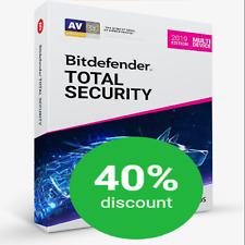 💥 Bitdefender TOTAL Security 2019 ✳️ 90 Tage CODE ✳️ 5 GERÄTE ✳️ BLITZVERSAND ✅