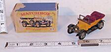 LESNEY MATCHBOX MODELS OF YESTERYEAR 1911 DAIMLER BOXED