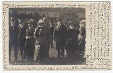 Copenhagen Denmark 1920 RPPC Real Photo Postcard Fashionable Men & Women