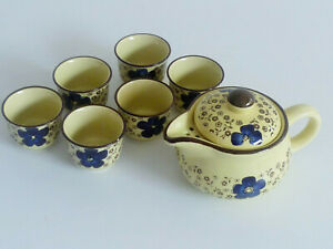 Unique !! Philips Hand Painted Ceramic Chinese Tea Set
