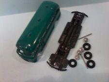 Micro Models Bedford SB Bus (Green)  paint 95%  Ready to assemble no box,