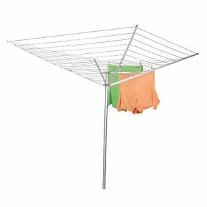 New Household Essentials Umbrella Outdoor Clothes Dryer 12 Line Aluminum Rotates