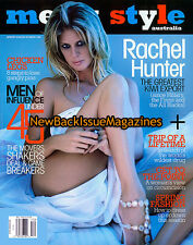 Australian Men's Style 9/08,Rachel Hunter,Woody Harrelson,September 2008,NEW