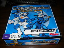 Killer Bunnies: Heroes vs Villains: Blue Starter Deck: Complete