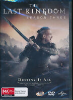 The Last Kingdom Season 3 Three DVD NEW Region 4