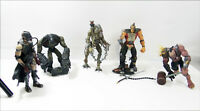 Lot of 5 Stan Winston Creatures Mutant Earth 2001 Loose W/ Accessories No Stands