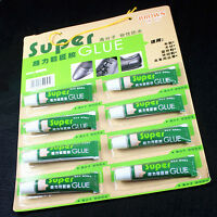 20ML Super Adhesive Glue Shoe Repair Tube Leather Rubber Strong Bond Fast
