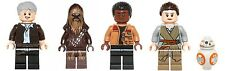 LEGO 75105 Star Wars - Han Solo, Chewbacca, Finn, Rey & BB8 - Mini figures