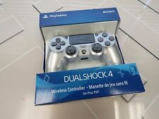 Sony PS4 DualShock 4 Wireless Controller - Silver (CUH-ZCT2U) - Latest Model
