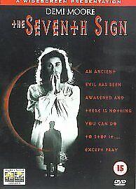 THE SEVENTH SIGN GENUINE R2 DVD DEMI MOORE MICHAEL BIEHN NEW/SEALED