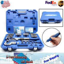 WK-400 Hydraulic Pipe Expander Set Pipe Fuel Line Flaring Tools KIt Steel