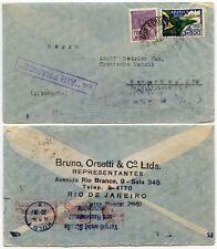 BRAZIL AIR FRANCE BOXED + AIRMAIL TRANSIT 1934
