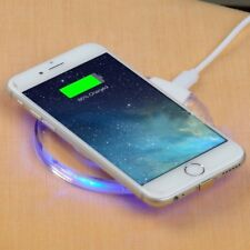 Qi Wireless Fast Charger Dock Charging Pad For PHONE X & 8