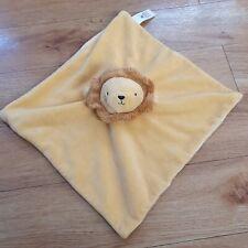 Tu Sainsburys Lion Comforter Soother Striped Blankie Blanket Soft Toy Tiger