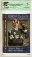 Steven Stamkos 2008 Upper Deck Biography #BS4 Rookie Card PGI 10