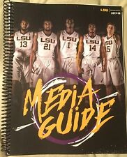 2017 / 2018 LSU  Men's BASKETBALL MEDIA GUIDE - NEW