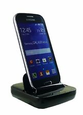 Black Smart Dock V2.0 Micro USB Docking Station Dock for Samsung Galaxy S5 Mini