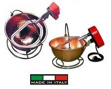 Botta: paiolo elettrico(martellato) 3L. per polenta-marmellate  (made in Italy)-