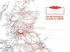PHOTO  BR NETWORK  1948-49  MAP ONE NORTH