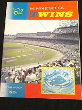 Minnesota Twins Yearbook MLB Baseball 1962-Killebrew-Kaat-Moore