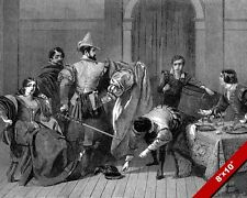 SCENE FROM TAMING OF THE SHREW WILLIAM SHAKESPEARE CANVAS GICLEE 8X10 ART PRINT