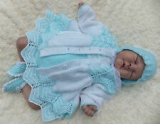 KNITTING PATTERN TO MAKE COOKIE'S LITTLE SISTER, COAT SET FOR BABY/REBORN DOLL