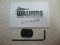 NEW WILLIAMS SIGHT SLOT BLANK FILLER GUN SIGHTS 3/8 INCH SLOTS RIFLES EZ INSTALL
