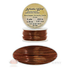 20 Gauge Copper Artistic Craft Wire 18 Feet 5.48 Meters Jewelry Beading Crafts