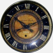 1 inch Crystal Dome Button Clock Face #5 FREE US SHIPPING