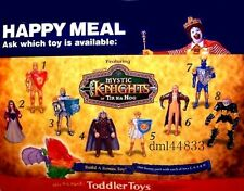 1999 McDonalds Mystic Knights MIP Complete Set - Lot of 8, Boys & Girls, 3+