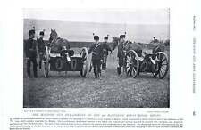 1896 3rd King's Royal Rifles Machine Gun Detachment Lincolnshire Officers Nco's