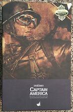 Captain America Rescue Uniform EMPTY BOX Hot toys MMS180 1:6 Hot Toys