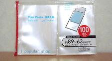 100 Fuji Instax Mini Film Sleeves Protector x Fujifilm Mini 8/ 90 Mini 25/50s 7s
