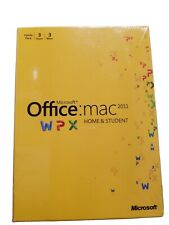 New Microsoft Office 2011 for Mac Home and Student Family Pack 3-user A-2