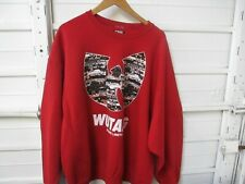 Vintage Wu Tang Brand Limited Crew Neck Sweater Made In The USA Men's Size 2XL