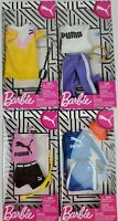Barbie Puma Fashion Athletic Weat clothing packs lot of 4
