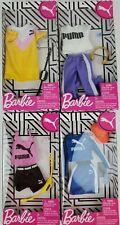 Barbie Puma Fashion Athletic Weat clothing packs lot of 4