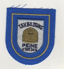 Fabric Patches Patches Tsv Education Peine Football Sports Club