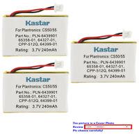 Kastar Headset Battery for Plantronics CS-50 CS50 CS55 Avaya AWH-65 CS361 CS361N