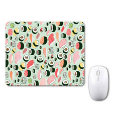 Japanese Sushi Pattern Lovely Mouse Mat Pad Notebook Computer Laptop Mice