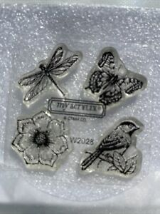 Close to My Heart Petite Perks Delicate Wings W2028 Stamp Set Scrapbooking
