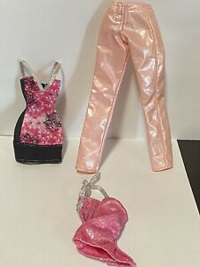 barbie clothes lot dresses skirts and tops