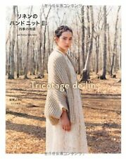 TricoTage De Lin Handknit and Crochet 2 four seasons - Japanese Book