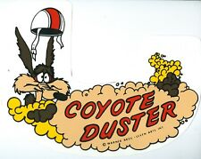 1969 COYOTE DUSTER AIR CLEANER DECAL-HEMI & 6V