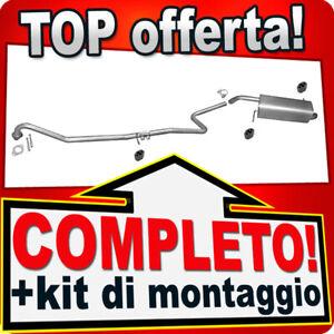 Scarico Completo per FORD FIESTA MK6 1.4 1.6 TDCI 2008-2012 Marmitta