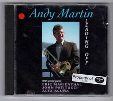 (GY409) Andy Martin, Leading Off - 1995 CD