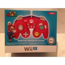 """Manette Pad """"Fightpad"""" Mario Nintendo Wii U"""