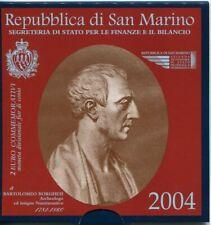2 euro commemorativi SAN MARINO dal 2004 al 2020