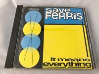 save FeRRies JAPAN CD OBI IT MEANS EVERYTHING ESCA 6827 w/ Tracking in Stock F/S